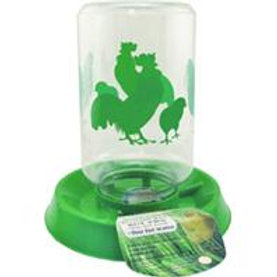 Chicken Reversible Base Feeder/Waterer
