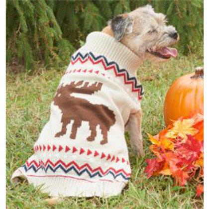 Moose Dog Sweater