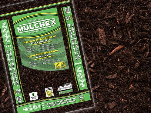 Cedar Mulch 2cuft. - Brown