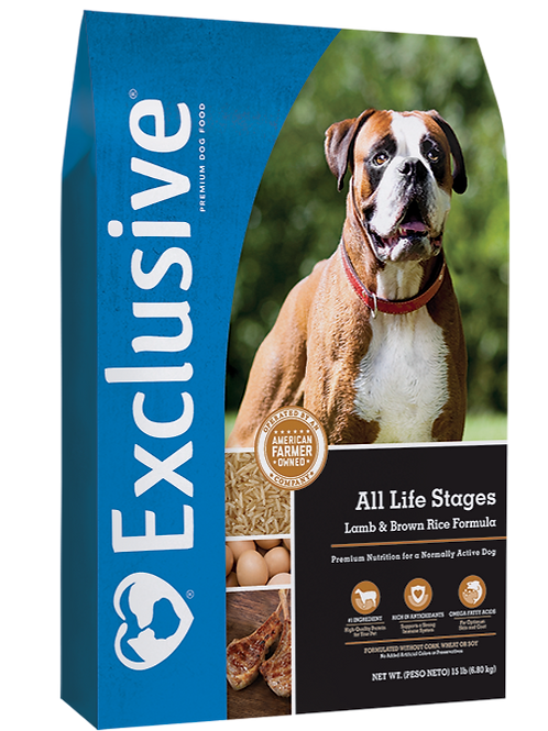 Exclusive Lamb & Brown Rice All Life Stages Dog