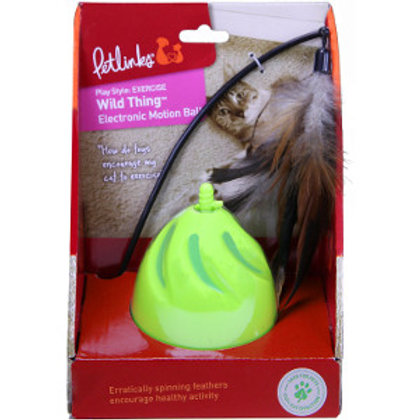 Pet Links Wild Thing Electronic Motion Cat Ball
