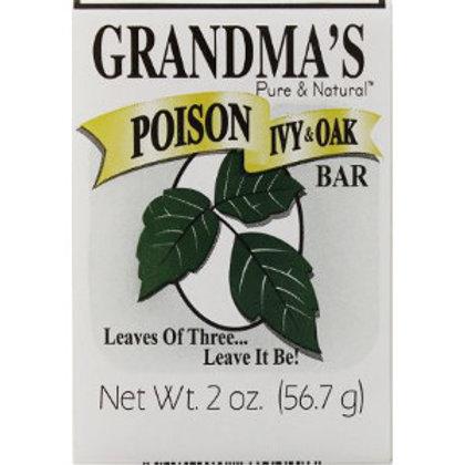 Grandma's Poison Ivy & Oak Bar
