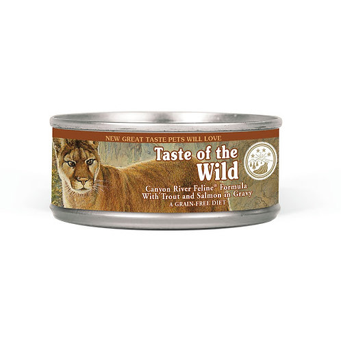 Taste of the Wild Feline Canyon River-Canne