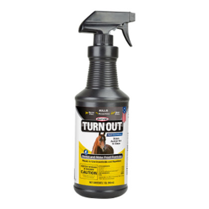 TURN OUT Sweat & Waterproof Knockdown Spray 1 Qt.