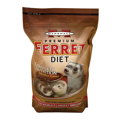 Marshall Ferret Food