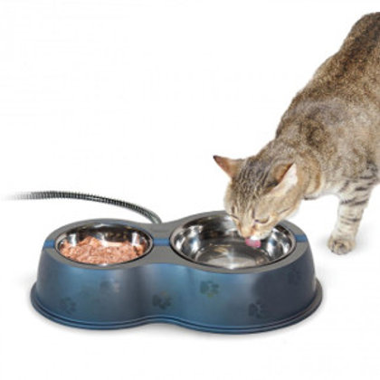 Thermo Kitty Cafe Heated Outdoor Double Diner