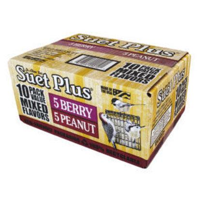 Suet Plus 10 PackMixed Flavor Suet