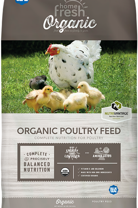 Home Fresh Organic Broiler 40lb