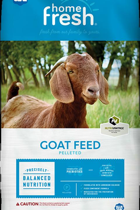 Home Fresh Goat Feed 16% Med. Pellets
