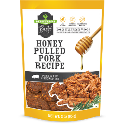 Bistro Honey Pulled Pork Dog Treats
