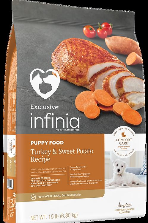 Infina Puppy Turkey & Sweet Potato