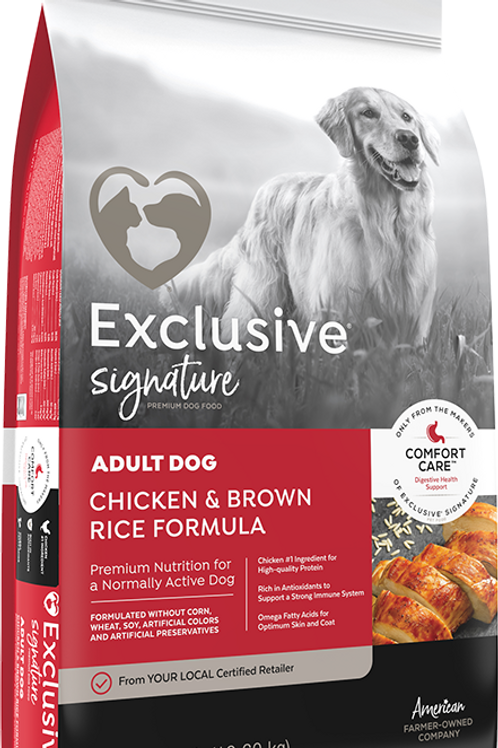 Exclusive Signature Chicken & Brown Rice Adult Dog