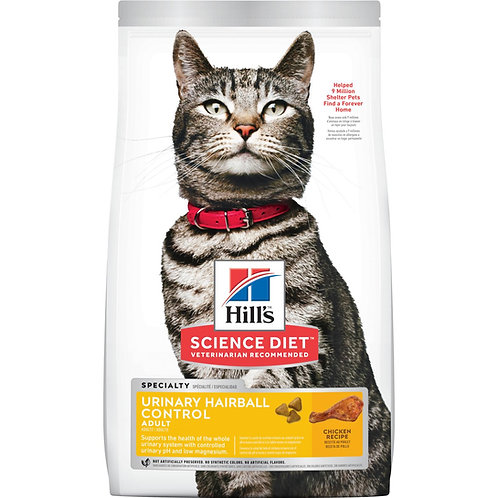 Science Diet Cat Urinary & Hairball Control