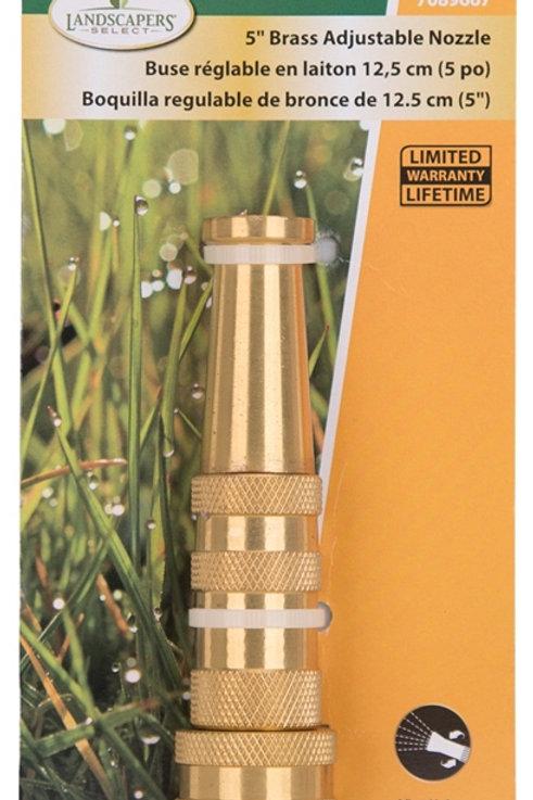 Brass Adjustable Hose Nozzle