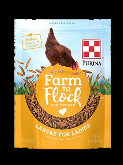 Purina Hen Treats - Larvae for Ladies