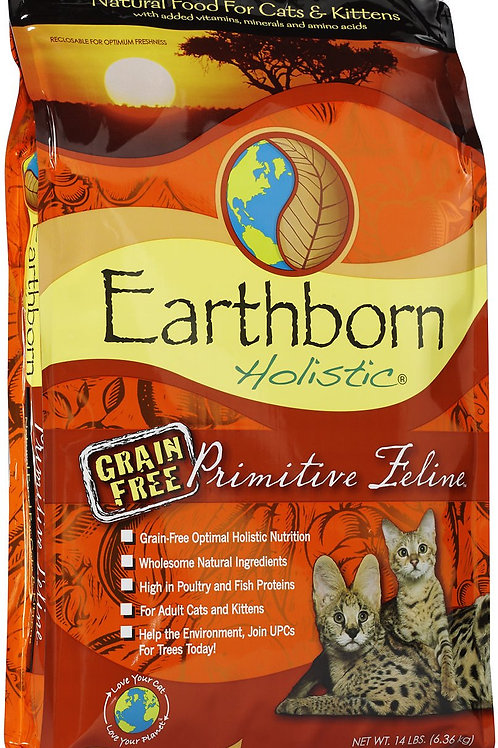 Earthborn Cat Primitive Nature