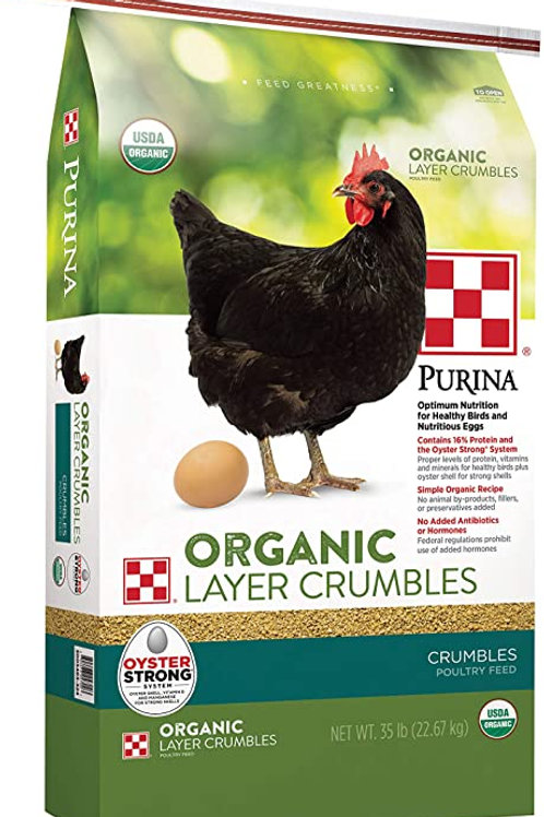Purina Organic Layer Crumbles 35lb