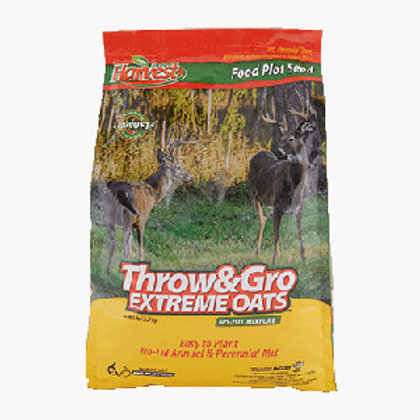 Throw & Gro Extreme WithOats No Till Food Plot
