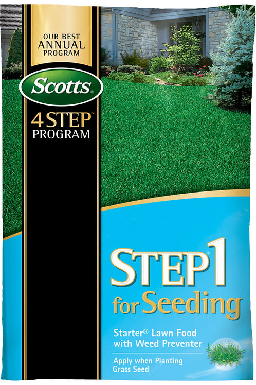 Scotts Starter With Crabgrass Control