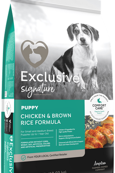 Exclusive Signature Puppy Chicken and Brown Rice