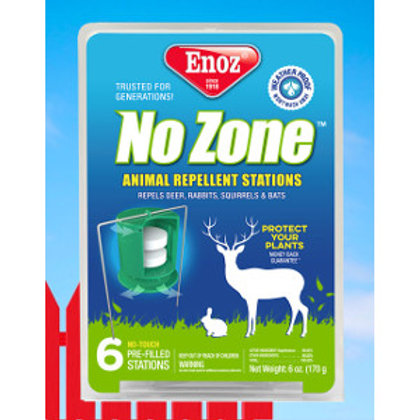 Enoz No Zone Animal Repellent Stations