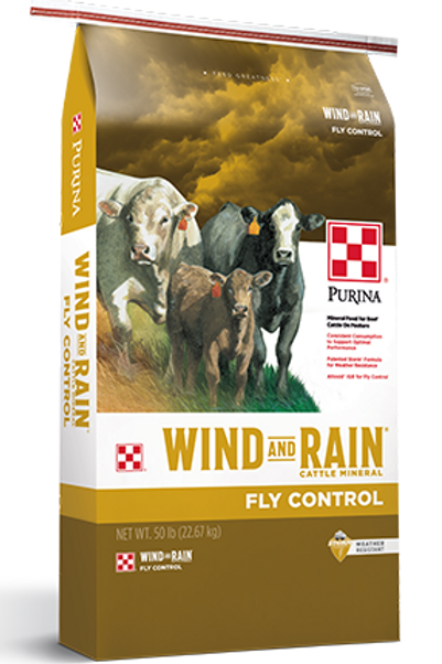 Purina Wind & Rain with Fly Control 50lb