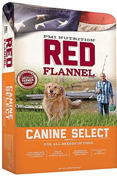 Red Flannel Canine Select