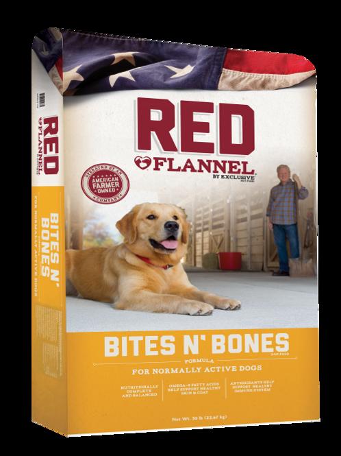 Red Flannel Bites N' Bones