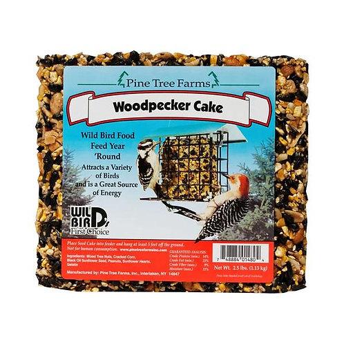 Wild Bird Woodpecker Cake