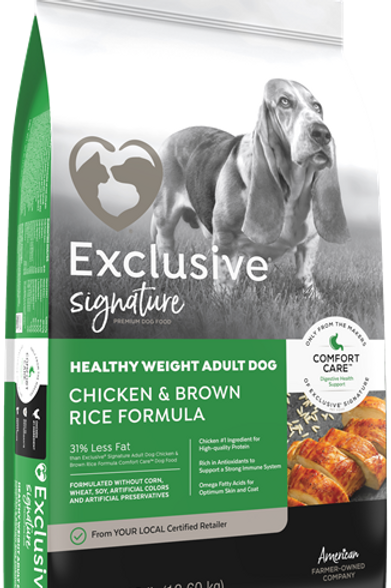 Exclusive Signature Healthy Weight Chicken & Brown Rice