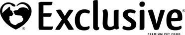 Exclusive pet food. logo