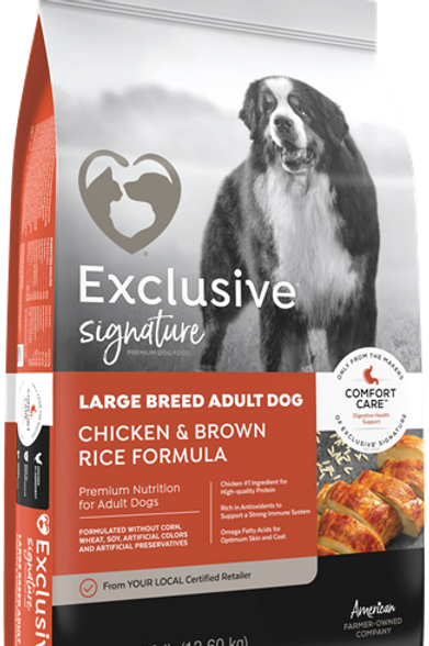 Exclusive Signature Large Breed Adult