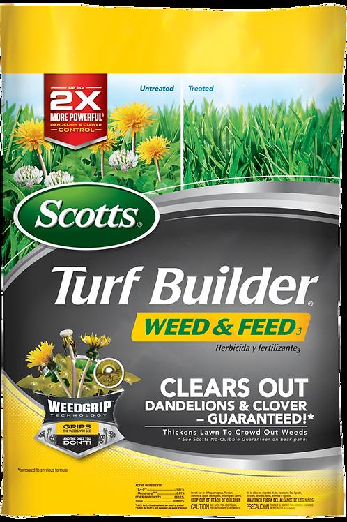 Scotts Turf Builder + Weed & Feed