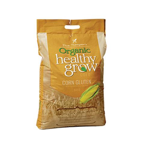 Yellow bag of organic corn gluten