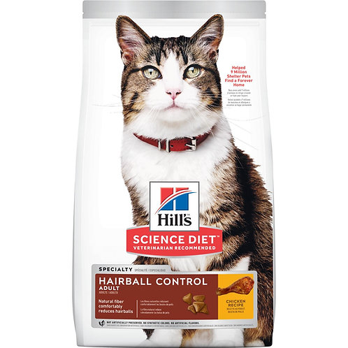 Science Diet Cat Adult Hairball Control