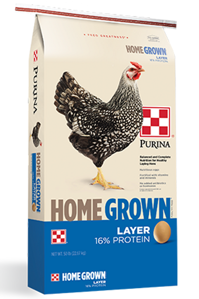 Home Grown Chicken Layer Feed 50lb