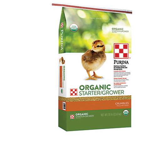 Purina Organic Chick Starter 35lb