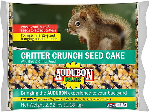Critter Crunch Seed Cake