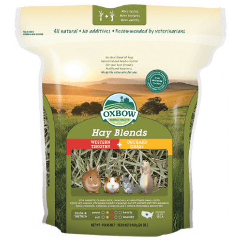 Oxbow Hay Blends-Timothy & Orchard Grass