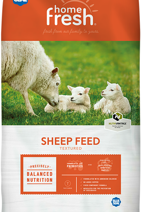 Home Fresh Sheep 18% Textured Med.