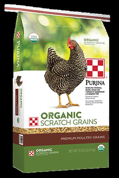 Purina Organic Scratch 35lb