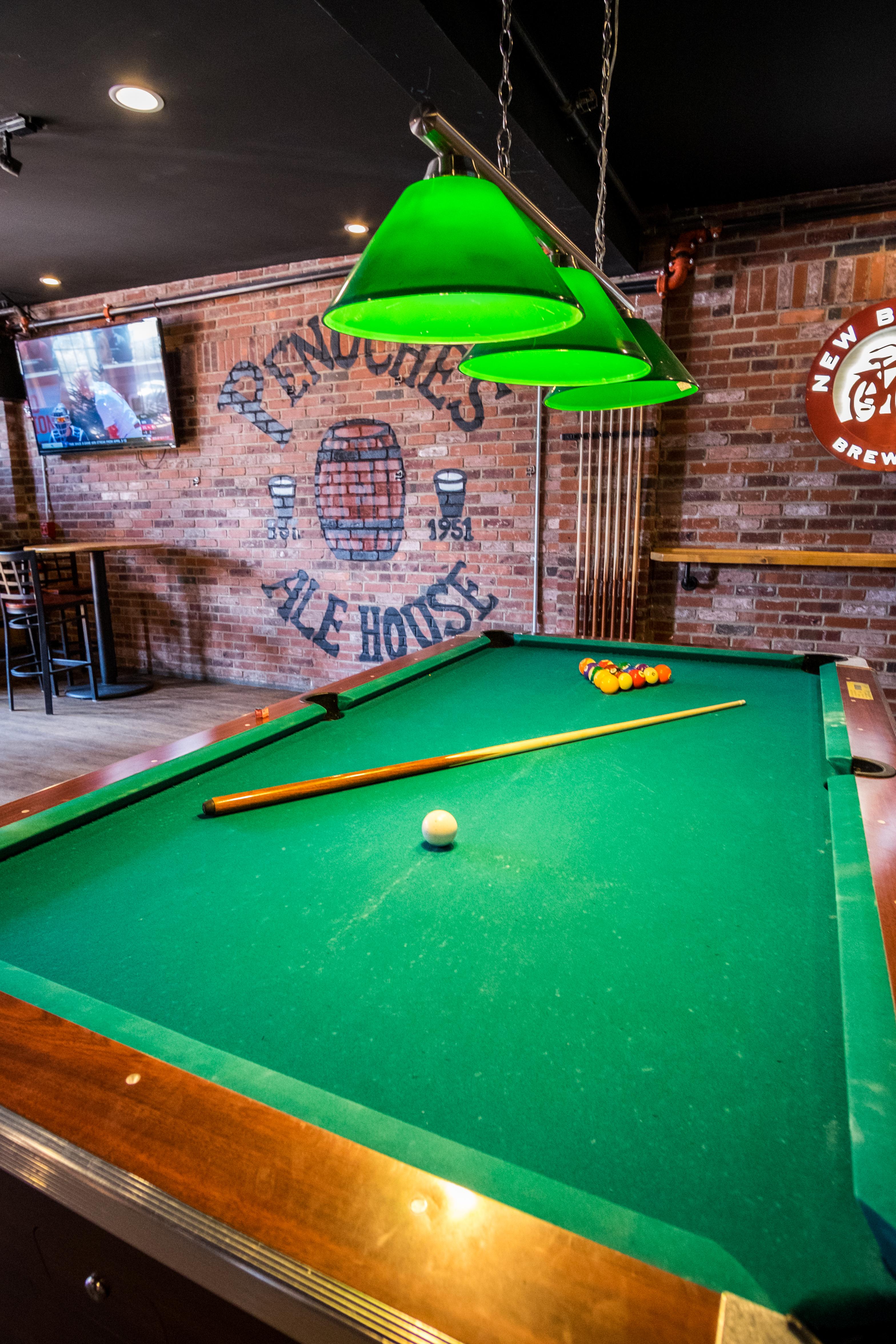 Pool game at Penuches Nashua