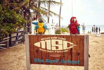 Surf camp Macao beach
