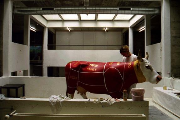 Magali peint SimmenCow Jun2005.jpg