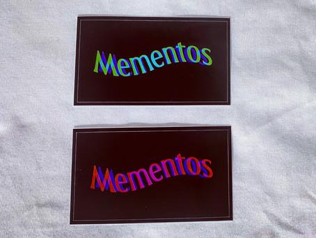 Mementos Logo (Metamorphose) Sticker 無料配布開始