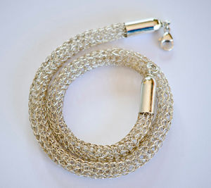 BRAIDED CHAIN, by Cecilie Hveding, Norway