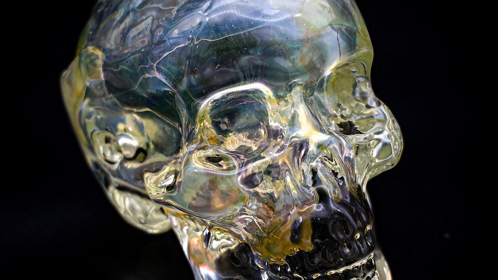 Fumed Snodgrass Skull