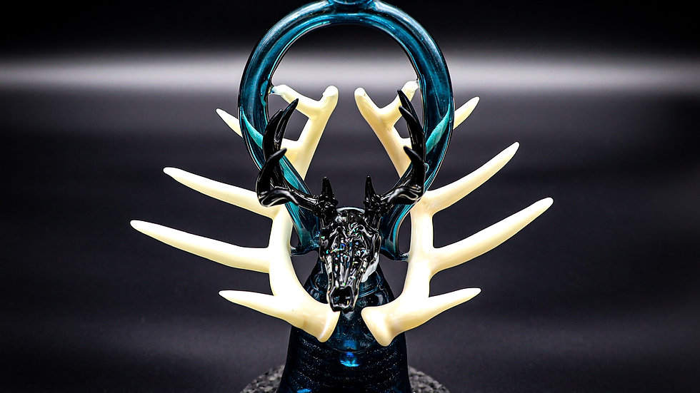 Deer Skull Collaboration Art