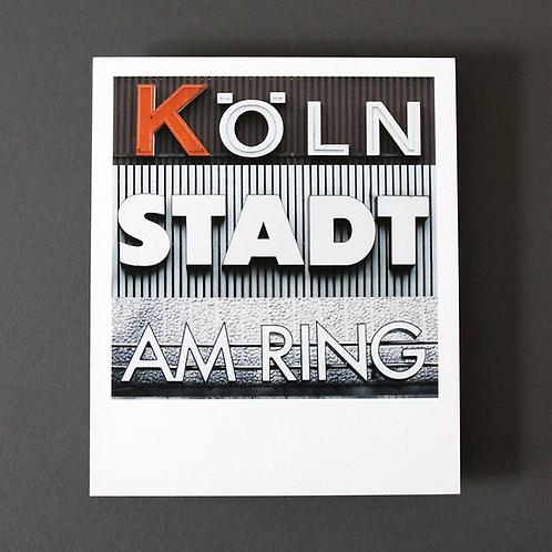 Polaroid Köln Stadt Am Ring