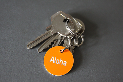 Schlüsselanhänger Aloha